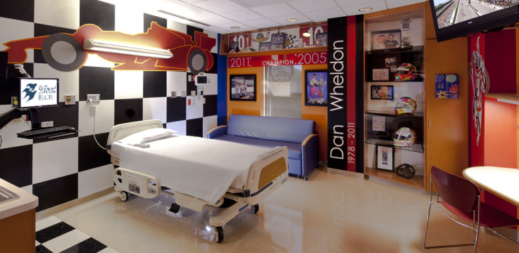 wheldon room in the PMCH recovery wing