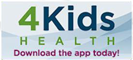 Download the 4Kids Health app today!